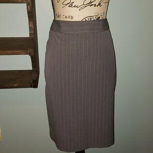 New Apt 9 Pinstripe Skirt